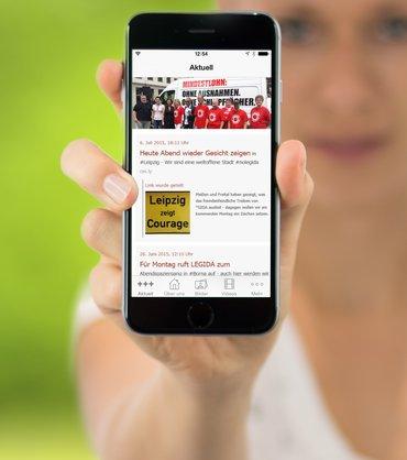 Jetzt für iPhone, Android und Windows Smartphones erhältlich