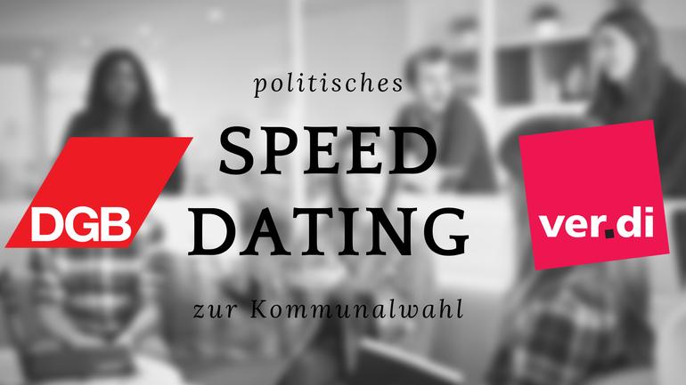Speed-Dating zur Kommunalwahl
